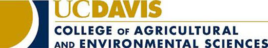 UC Davis College of Agricultural and Environmental Sciences logo