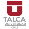 U of Talca logo in grey and maroon